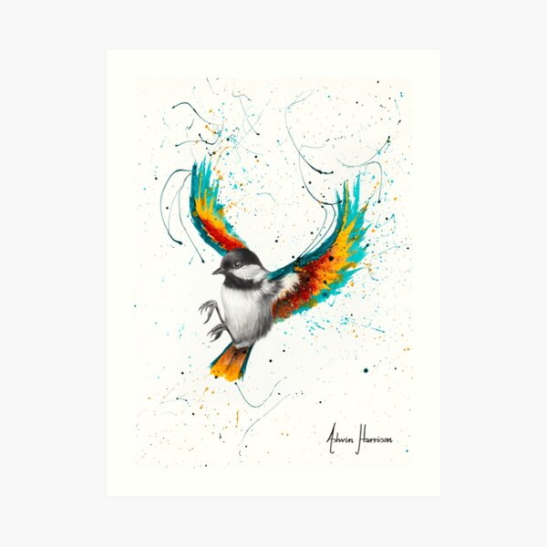 Solo Sounds Bird  Art Print