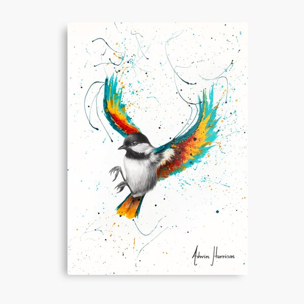 Solo Sounds Bird  Metal Print