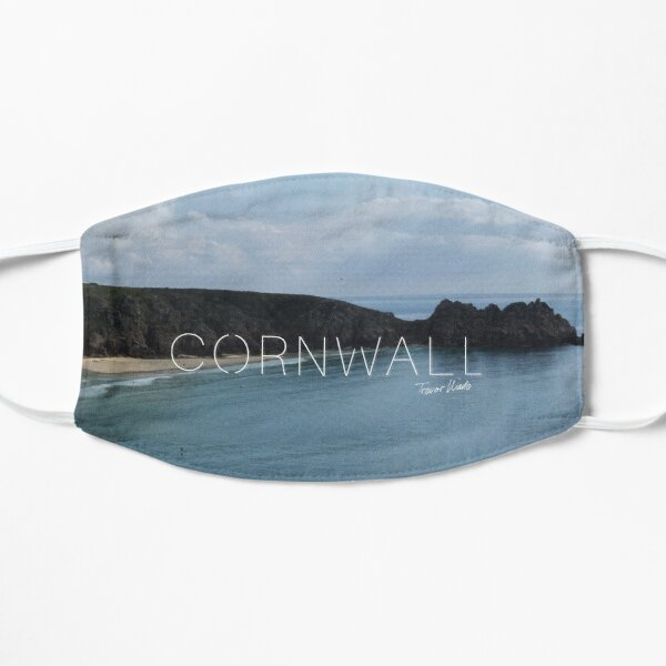Cornwall Beaches - Porthcurno Beach Mask