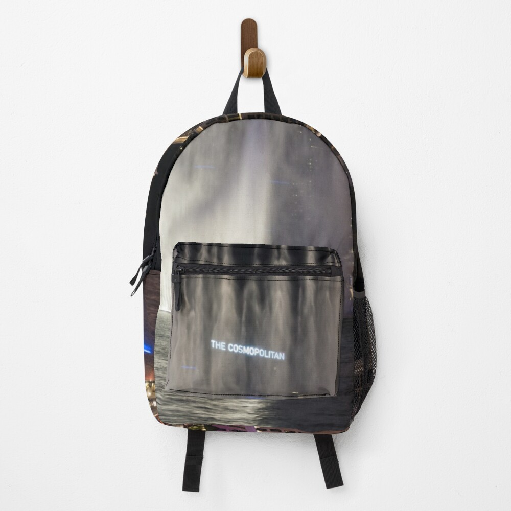 Cosmopolitan Behind the Water Curtain Backpack