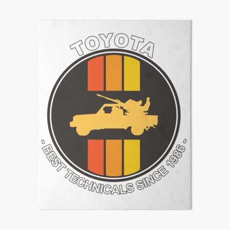 Toyota technical Art Board Print