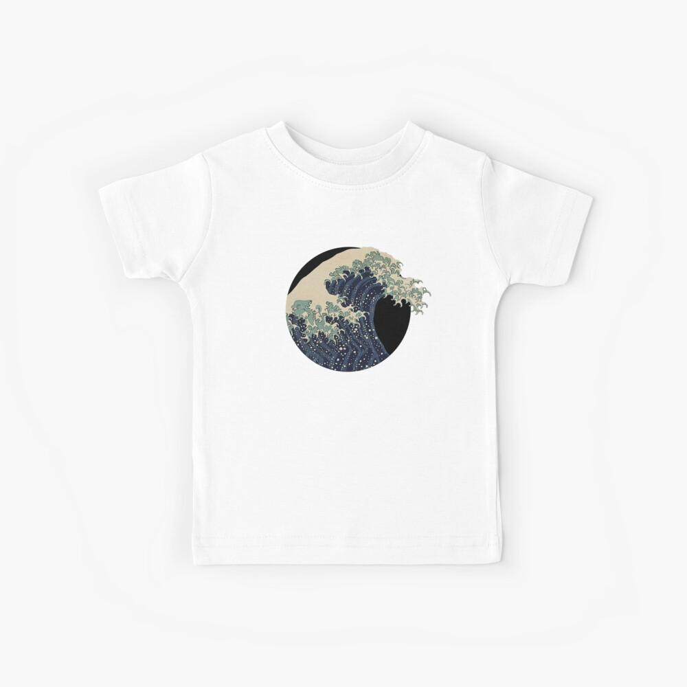 Die große Welle Kinder T-Shirt