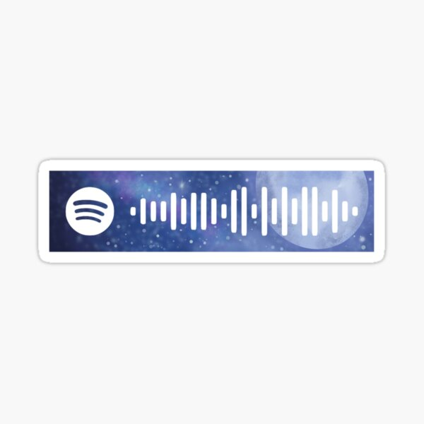 my future- Billie Eilish inspired spotify code Sticker