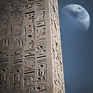 Egyptian moon by Vin  Zzep