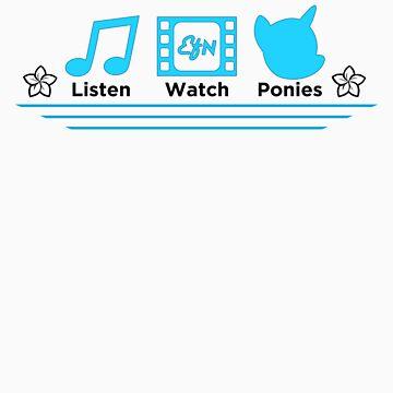EFN - Listen. Watch. Ponies. by EverfreeNetwork