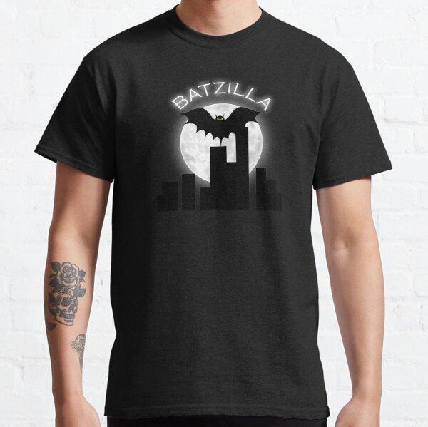 Batzilla over a cityscape Classic T-Shirt
