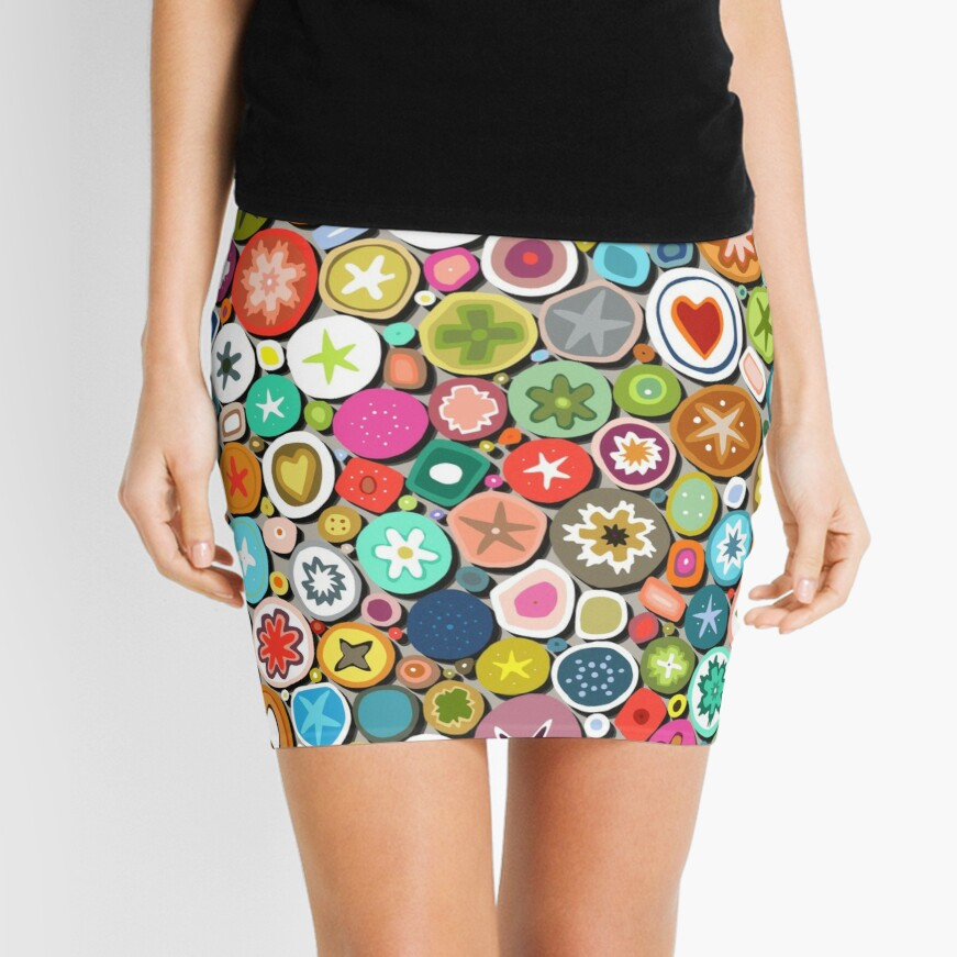 millefiori Mini Skirt
