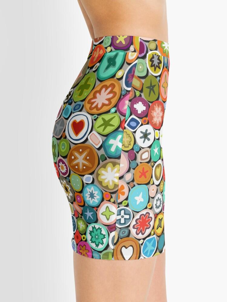 Alternate view of millefiori Mini Skirt