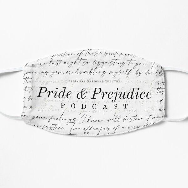 Darcy's Letter Face Mask Pride and Prejudice White Mask