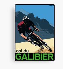 col du Galibier Canvas Print