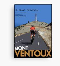 Ventoux Climb Canvas Print