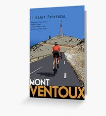 Ventoux Climb Greeting Card