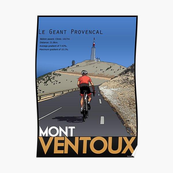 Ascension du Ventoux Poster