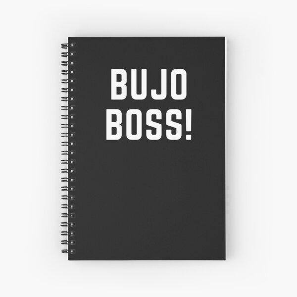 Patron de Bujo. Patron de journal de balle. Texte du journal à puces Cahier à spirale