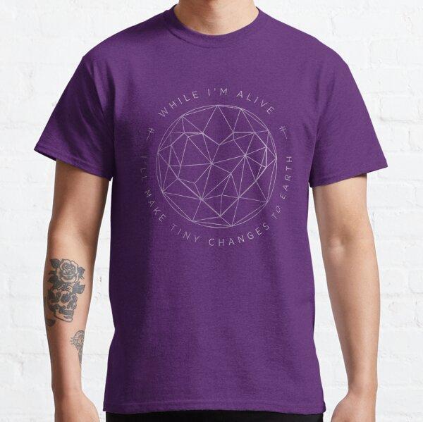 Make Tiny Changes (white version) Classic T-Shirt