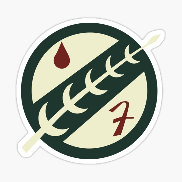 Boba Fett Emblem Sticker
