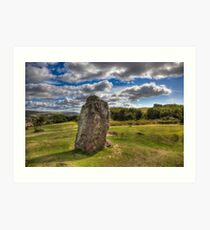 Mottistone The Longstone Art Print