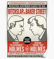 Bitchslap on Baker Street (print or poster) Poster