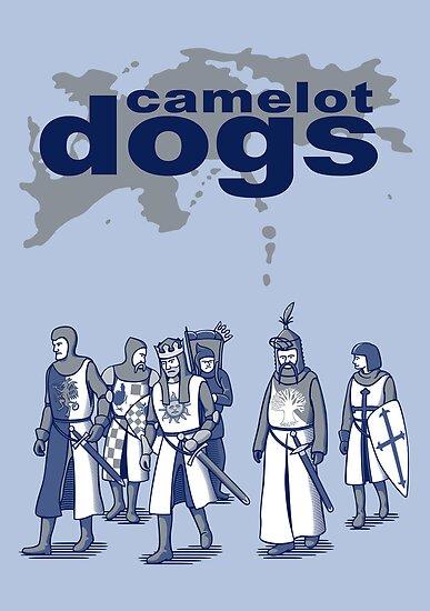 Camelot Dogs by DoodleDojo