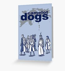 Camelot Dogs Greeting Card