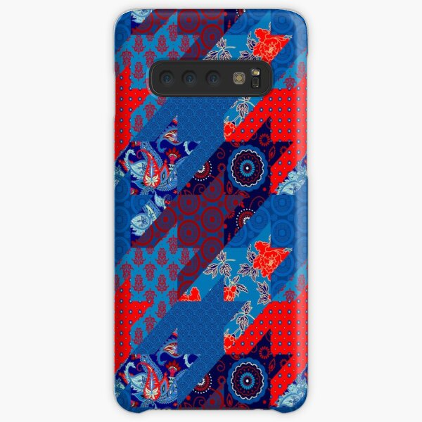 Hounds-tooth pattern in patchwork style Samsung Galaxy Snap Case