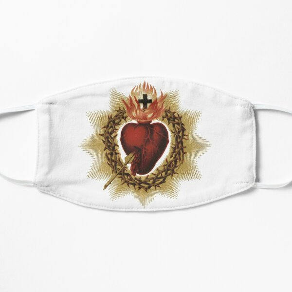 Sacred Heart of Jesus Catholic Mask