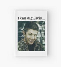 """Twist and Shout~Destiel~""""I can dig Elvis"""" Hardcover Journal"""