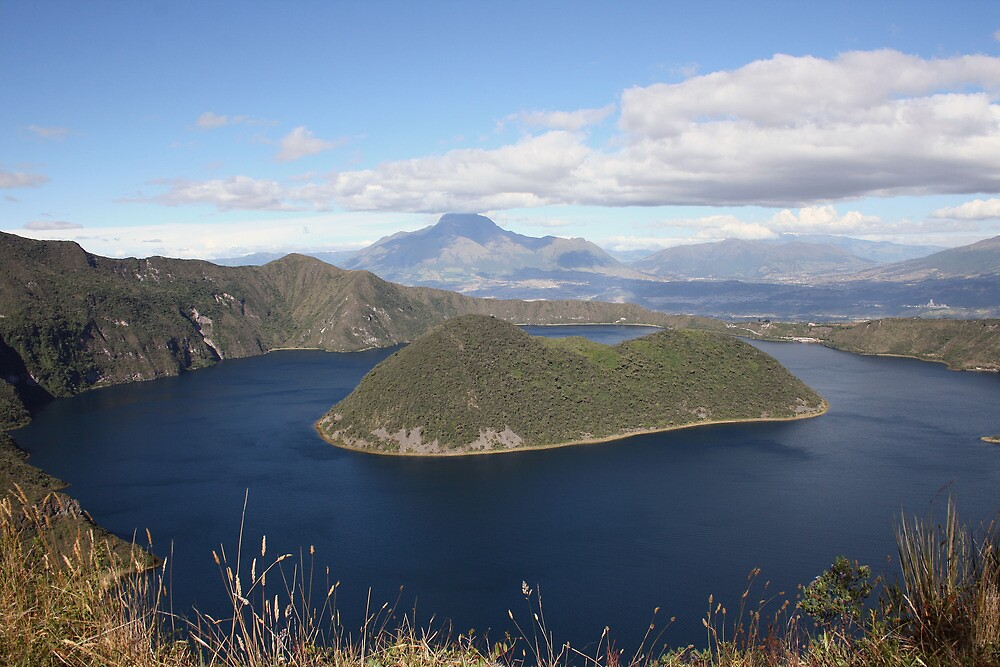 The Islands of Lake Cuicocha by rhamm