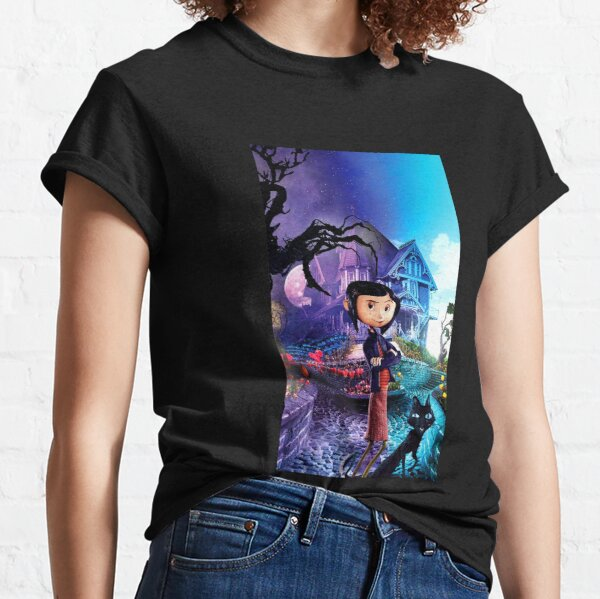 Película Coraline Camiseta clásica