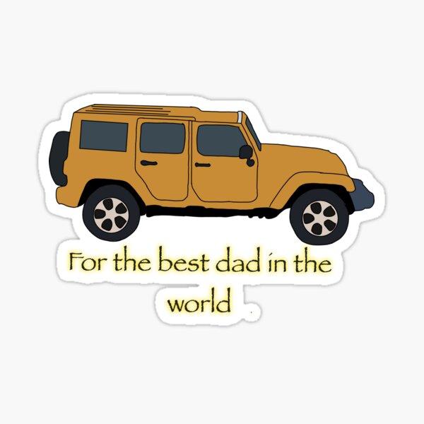 present for dad  Sticker