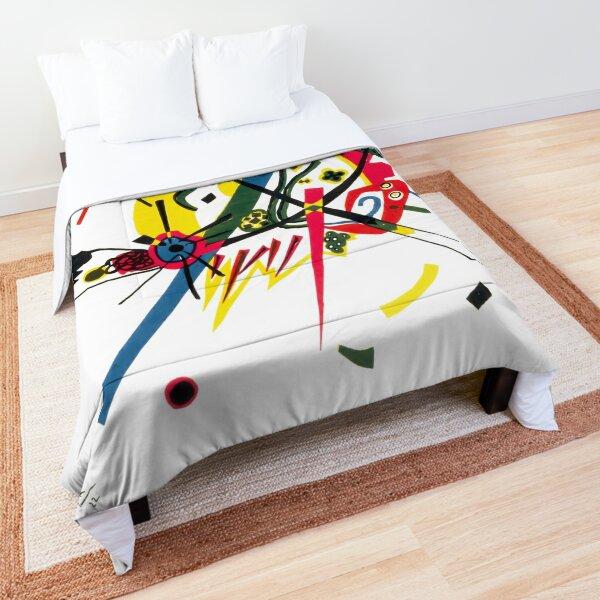 Kandinsky, Kleine Welten I (Small Worlds I) 1922 Comforter