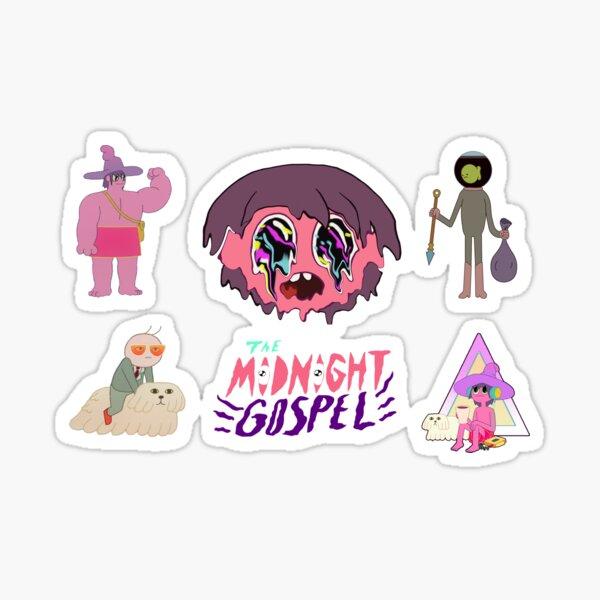 The Midnight Gospel pack Sticker