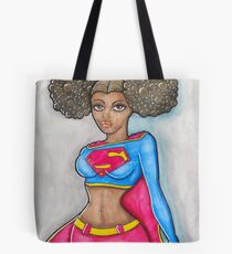 Super Woman Tote Bag