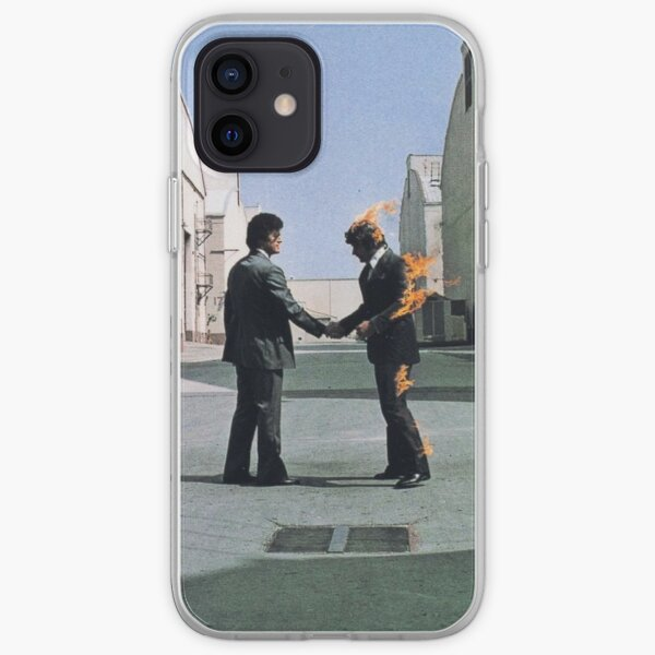 [HIGH QUALITY] Pink Floyd Wish You Were Here Artwork Coque souple iPhone