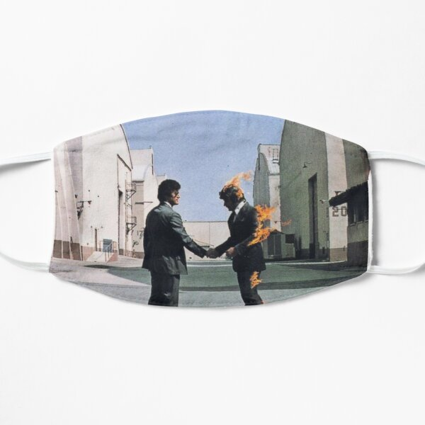 [HIGH QUALITY] Pink Floyd Wish You Were Here Artwork Mask