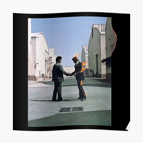 [HIGH QUALITY] Pink Floyd Wish You Were Here Artwork Poster