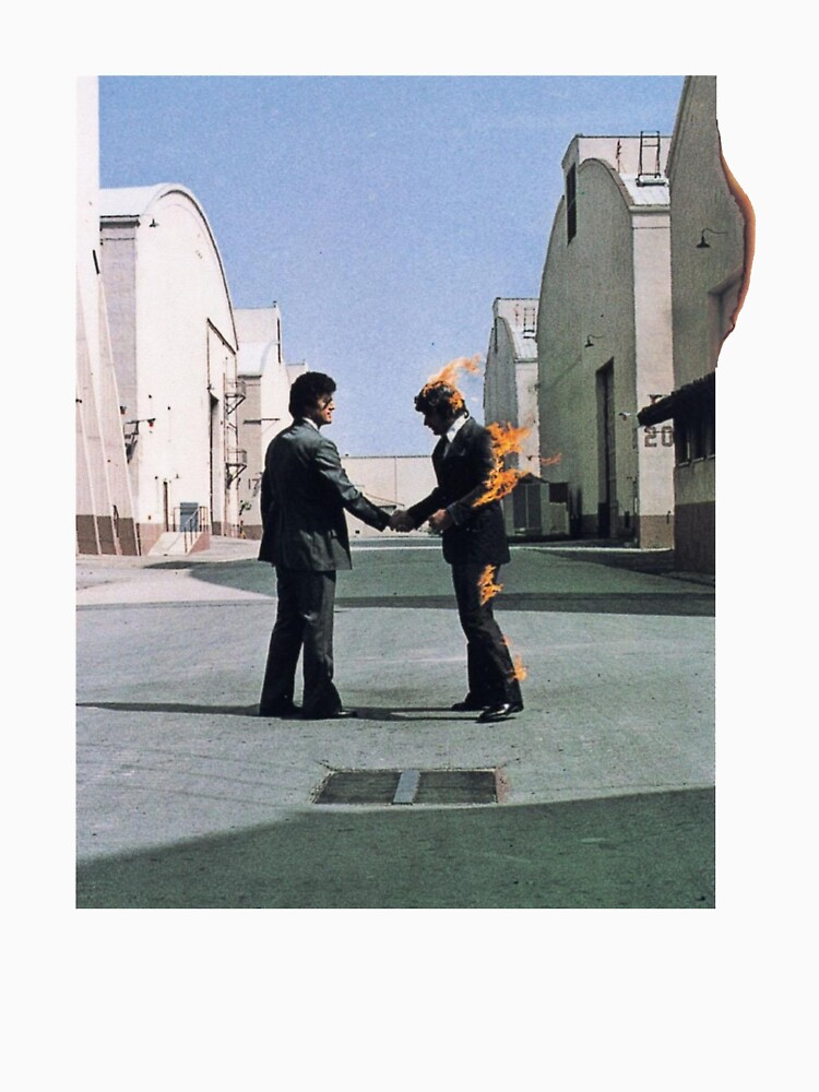 [HIGH QUALITY] Pink Floyd Wish You Were Here Artwork de Xelfeer