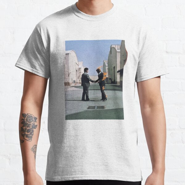 [HIGH QUALITY] Pink Floyd Wish You Were Here Artwork T-shirt classique