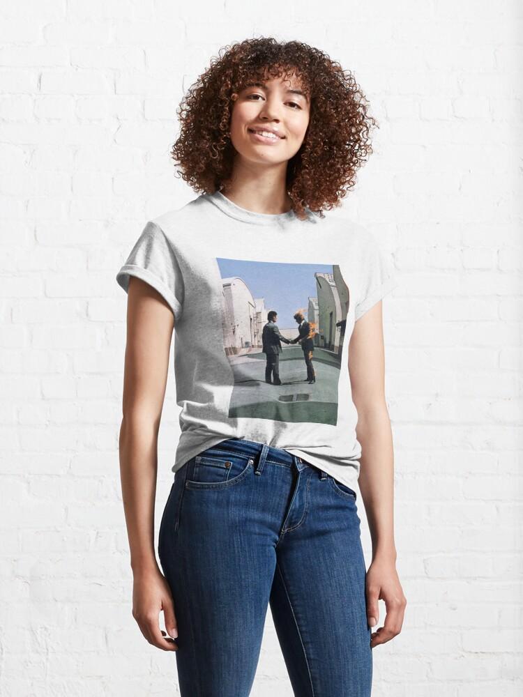 Vista alternativa de Camiseta clásica [HIGH QUALITY] Pink Floyd Wish You Were Here Artwork