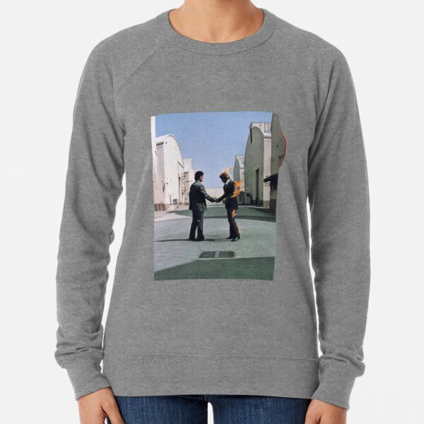[HIGH QUALITY] Pink Floyd Wish You Were Here Artwork Lightweight Sweatshirt