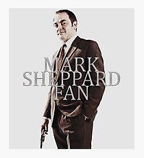 Mark Sheppard Fan Photographic Print