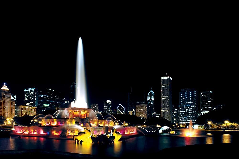 Chicago Buckingham Fountain by Steve Ivanov