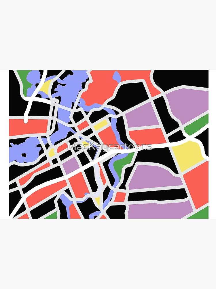 Map of Ottawa by MacKaycartoons