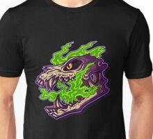 Green Spirit Skull Unisex T-Shirt