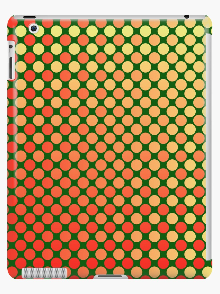 Red Yellow Green Mash-Up iPhone and iPad Case by Ra12