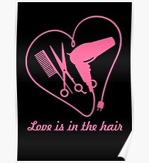 Love is in the hair VRS2 Poster