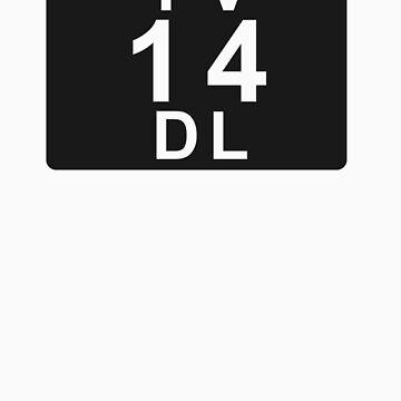 TV 14 DL (United States) black by bittercreek