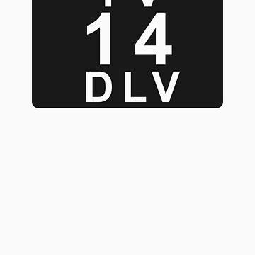 TV 14 DLV (United States) black by bittercreek