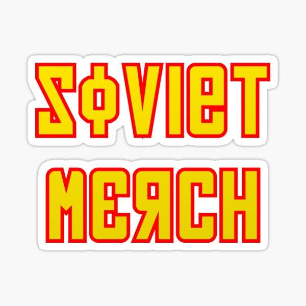 Soviet Merch Sticker