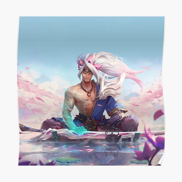Yasuo The Unforgiven Poster